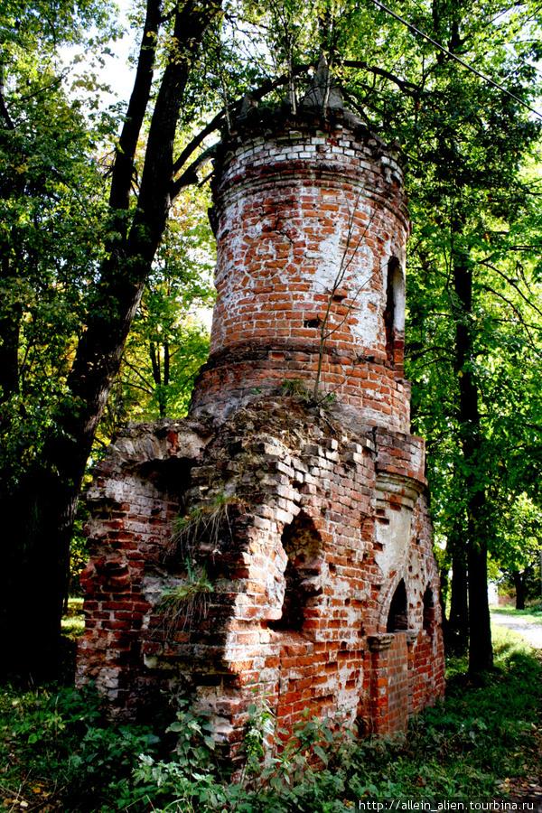 Места исключительно живописные, а руины добавляют им такой тревожной загадочности.