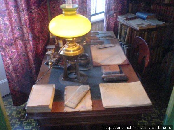 рабочий стол Стриндберга