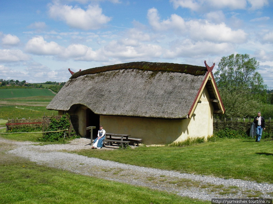 Хобро, реконструкция деревни викингов