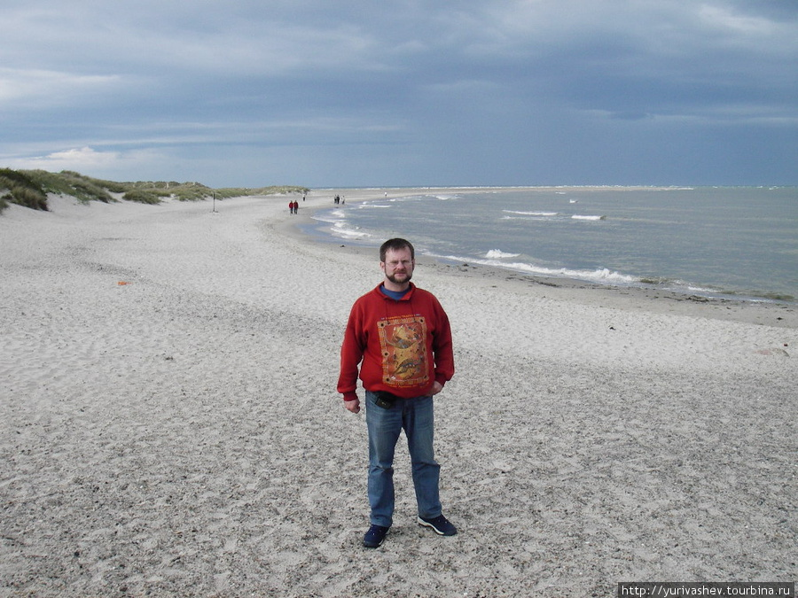 Скаген, за спиной — край Дании