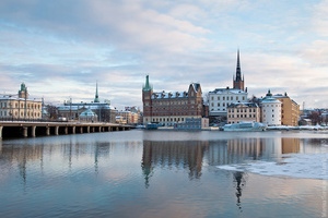 Стокгольмская пастель Из скал и воды, из нежности и великолепия... в этом весь Стокгольм, в который невозможно не влюбиться