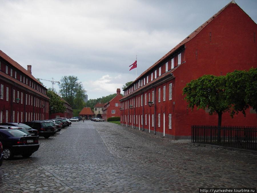 Копенгаген, казармы в Цитадели