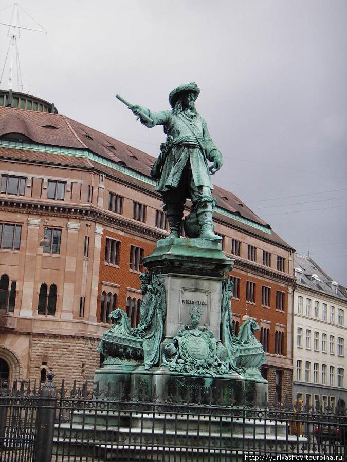 Копенгаген, памятник Нильсу Юлю