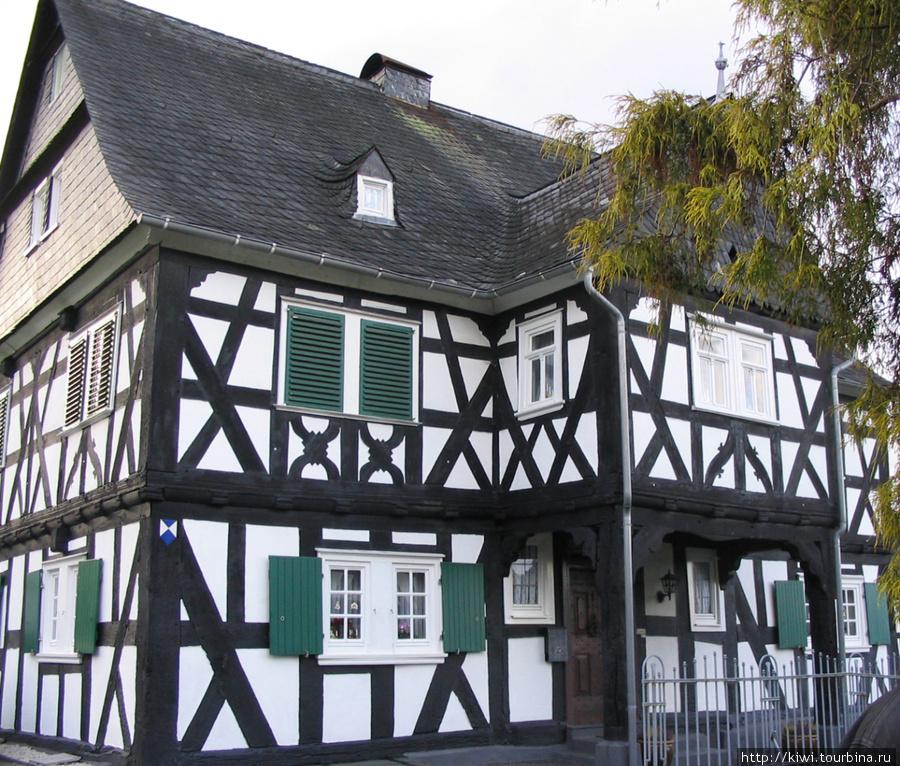 Дом старосты, постройка 1680 года