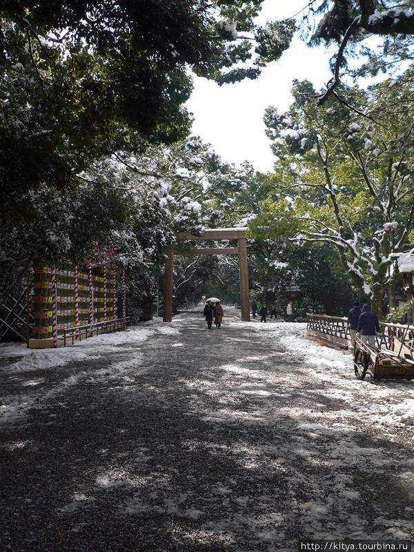 На храмовых дорожках