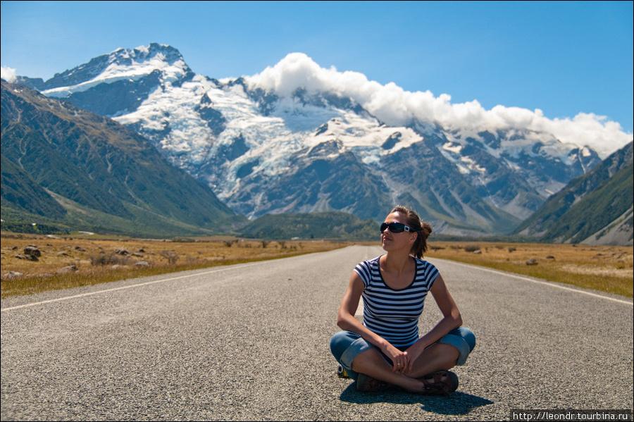 leondr*Окрестности Mount Cook*Новая Зеландия