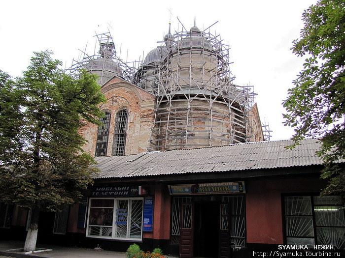 Фрагмент бывшего Благовещенского  монастыря.