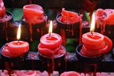 Свечи у базилики Санта Нино в Себу
