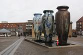 Вазы, установленные к 1000-летнему юбилею города