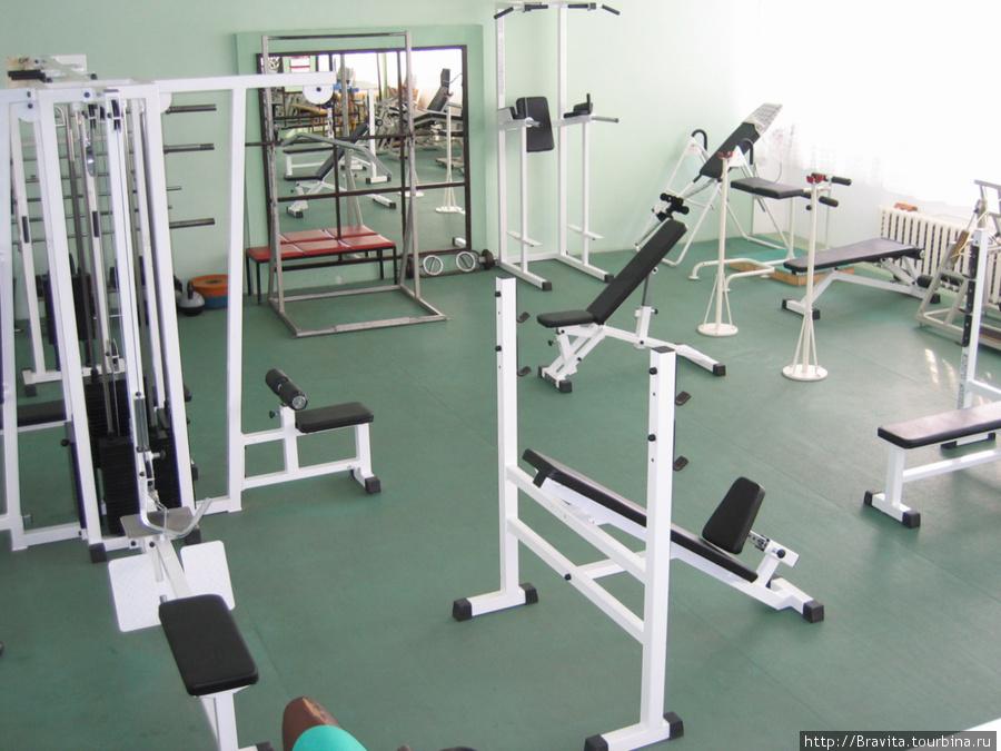 Тренажерный зал