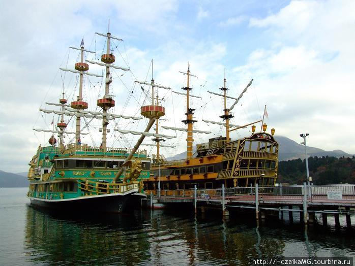Корабли на озере Аси