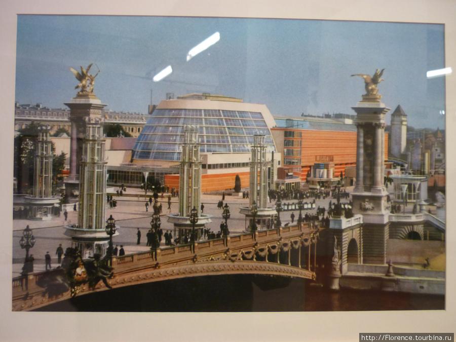 Павильоны Парижской выставки 1937 года. Фото Прокудина-Горского