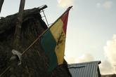 Одна из разновидностей флагов Куна. Всего их несколько начиная от такого и заканчивая испанским, на котором в центре изображена свастика.