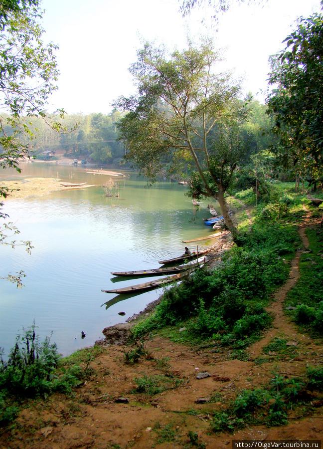 Речка Nam Khan