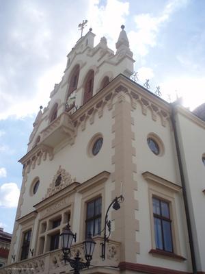 Ратуша на пл. Рынок в Старом городе (Центр)