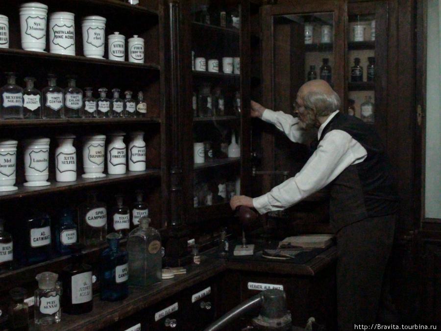 Аптека конца XVIII века