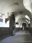 г. Бжеско, Польша. Дворец Гётц. В былые времена во Дворце Гётц были изысканная мебель, посуда, охотничьи трофеи и т. д.