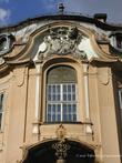 г. Бжеско, Польша. Дворец Гётц. Над окном замка герб рода Окоцимских-Гётцев
