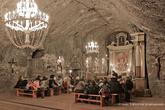 г. Бохня, Польша. Соляная шахта Бохни. Церковь Святой Кенги полностью сооружена из соли