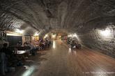 г. Бохня, Польша. Соляная шахта Бохни. Подземный ресторан в солевой шахте
