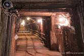 г. Бохня, Польша. Соляная шахта Бохни. Тоннель в шахте