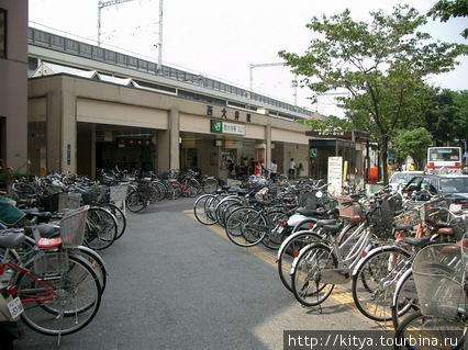 Велосипеды на станции