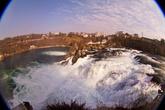 рейнский водопад — самый большой в Европе