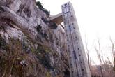 Лифт со смотровой в замок