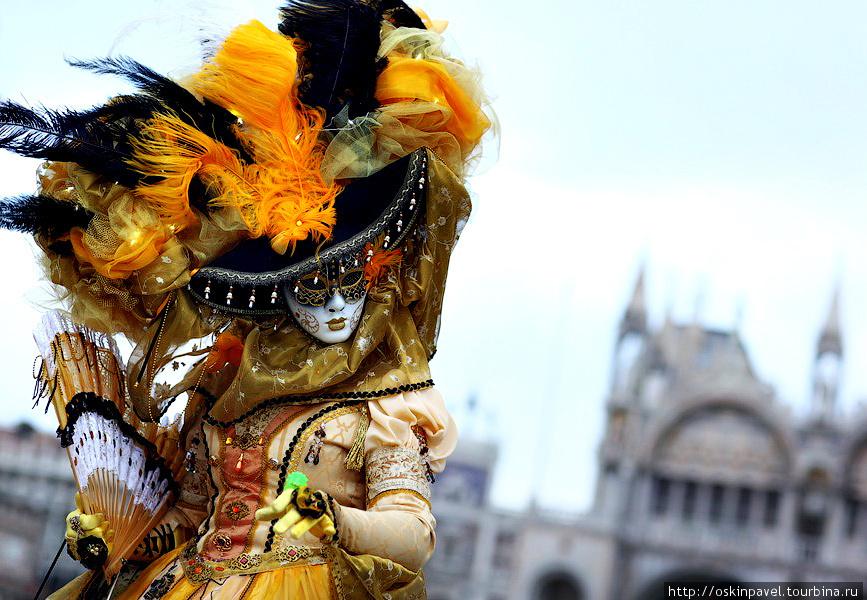 Всегда быть в Маске - судьба моя.... Венеция, Италия