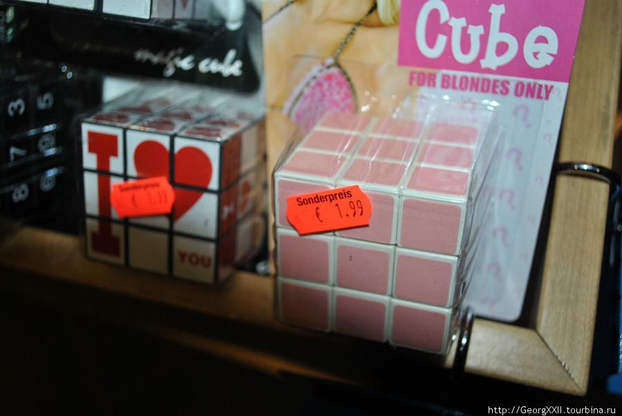 кубик-рубик для блондинок!!!