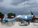 Плая-Хирон. Городской музей, где представлена история контрреволюционной высадки в заливе Свиней.