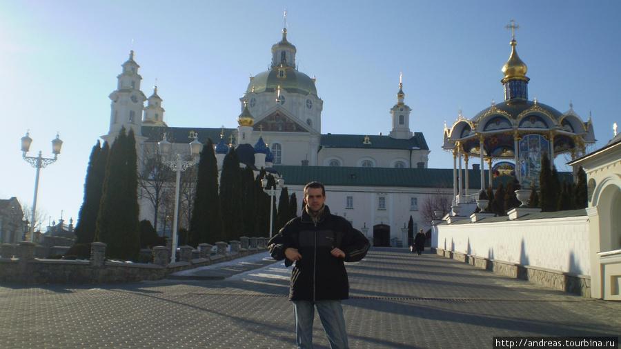 В Почаевской лавре