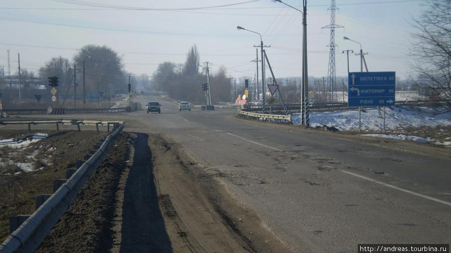 Возле г. Новоград-Волынский