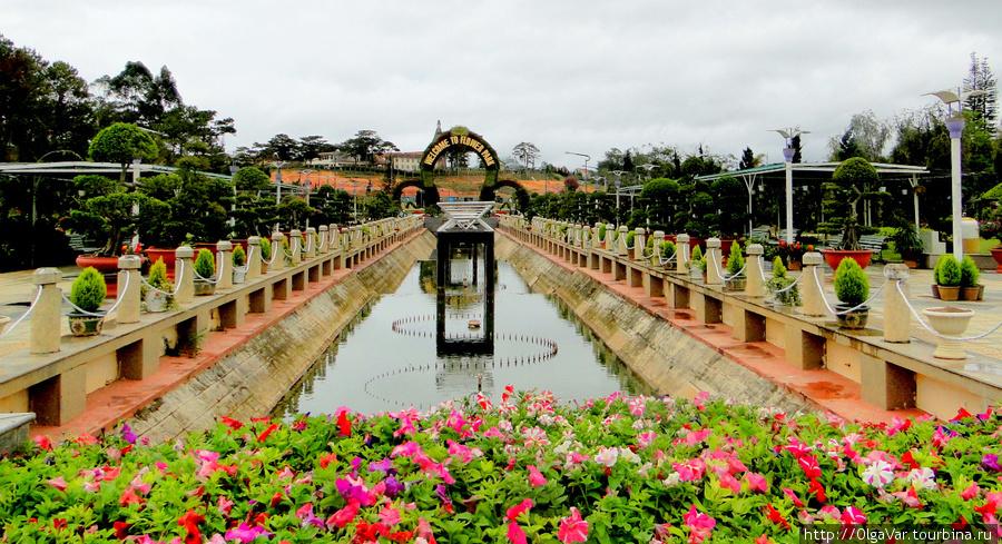 Городской парк цветов – C