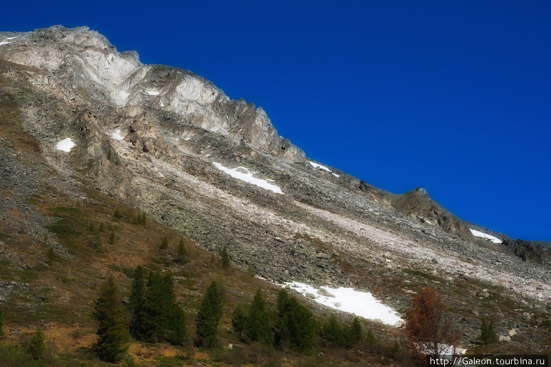 Красота гор порожала.