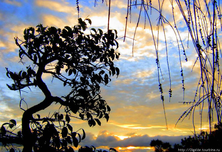 Закат в Далате