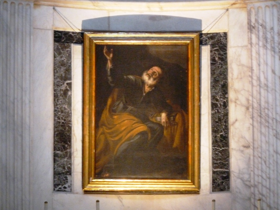 Портрет святого