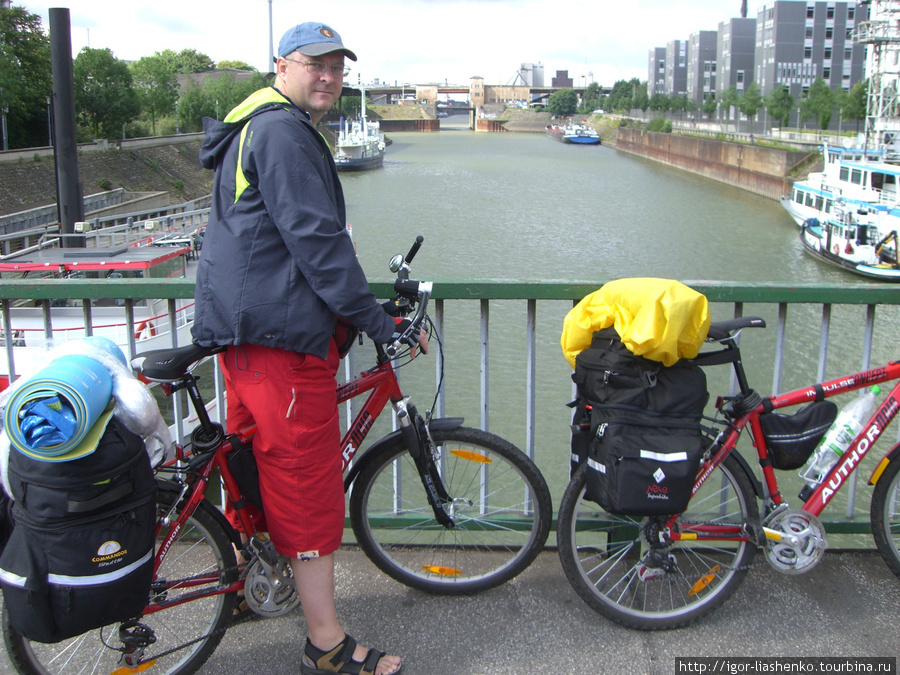 Дуйсбург — крупнейший речной порт Европы