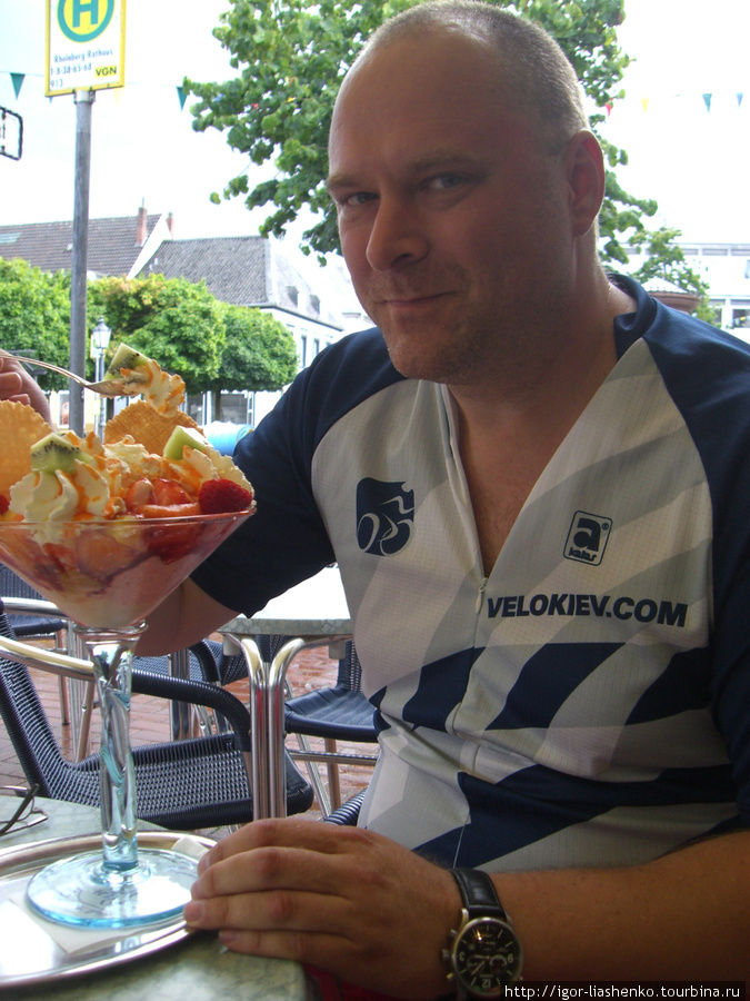 Мороженное в Рейнберге — приз за тяжелый день