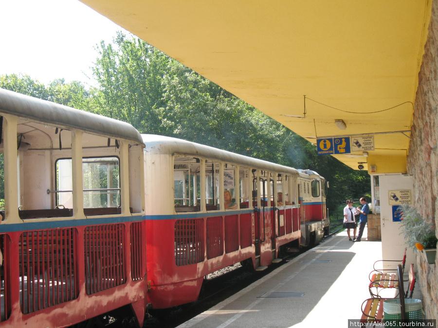 Поезд на станции Хувосвельд