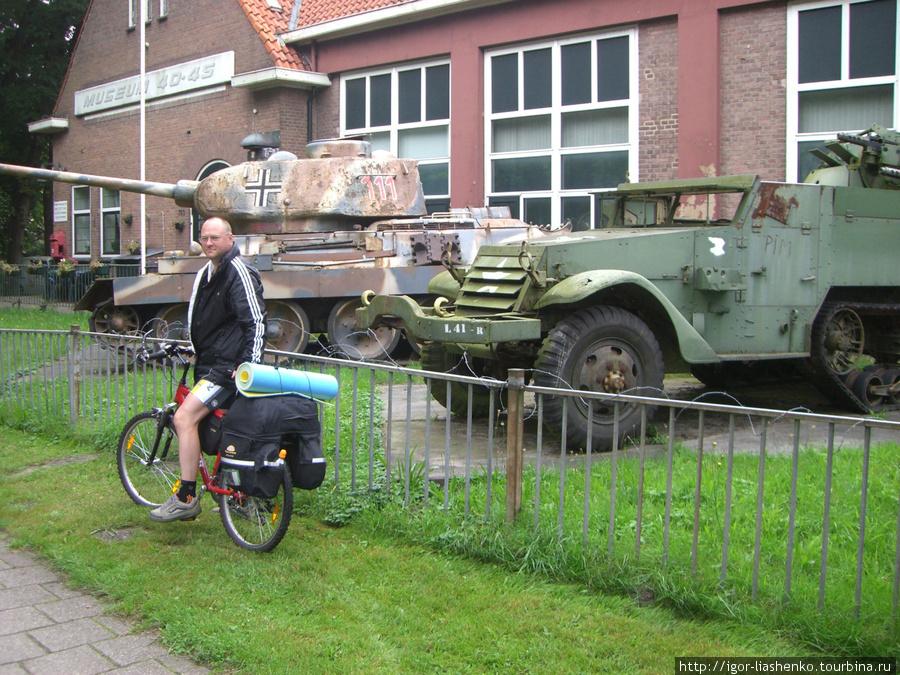 Наш Т-34 с немецким крестом