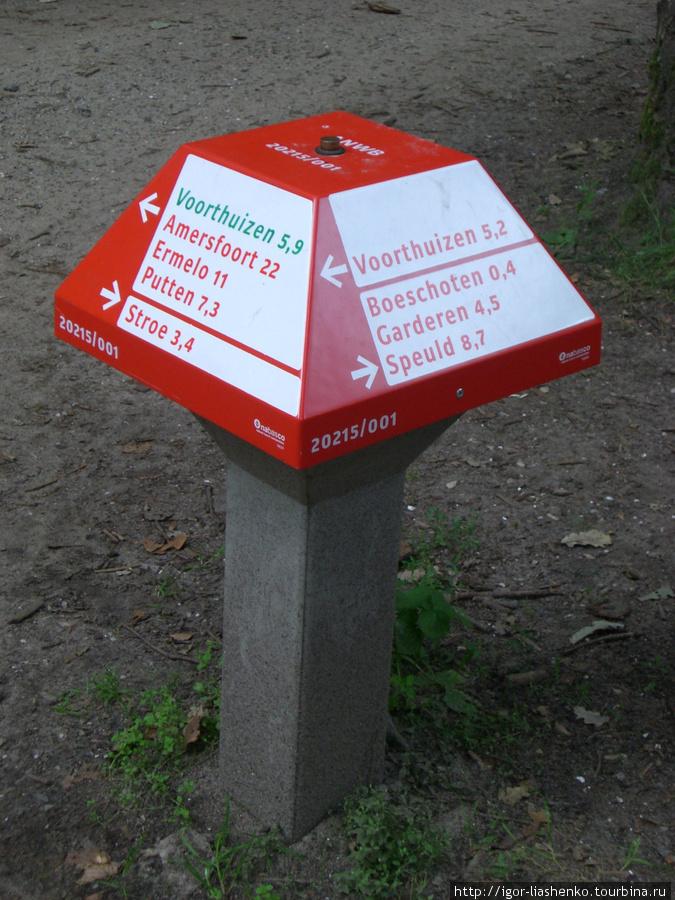 указатель для велосипедистов