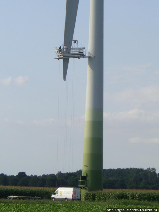 ремонт ветряка
