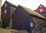 домики с травяными крышами
