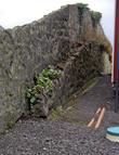 забор между участками с частными домами. а с улицы может зайти любой.