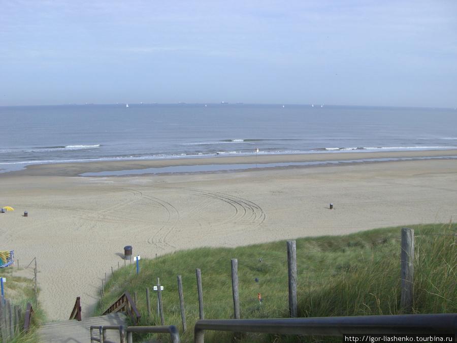 Пляжи в голландии широкие