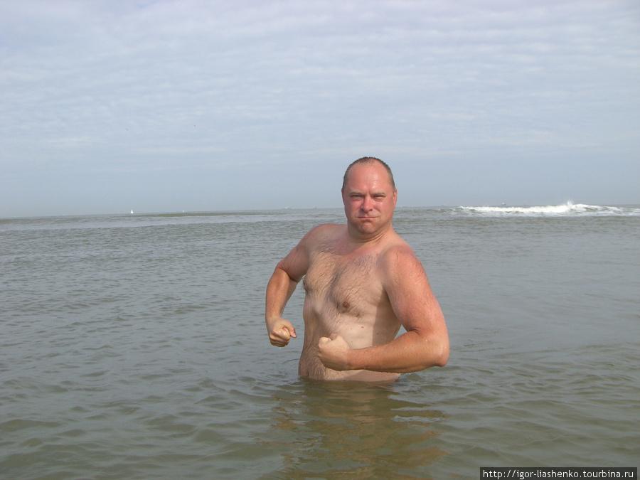 В холодном море главное — щеки надувать