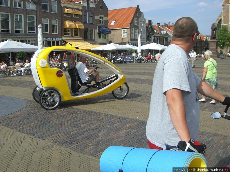 Голландский рикша