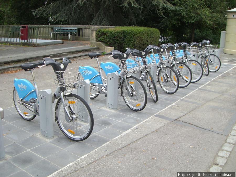 Люксембург — велопрокат 1 евро в неделю
