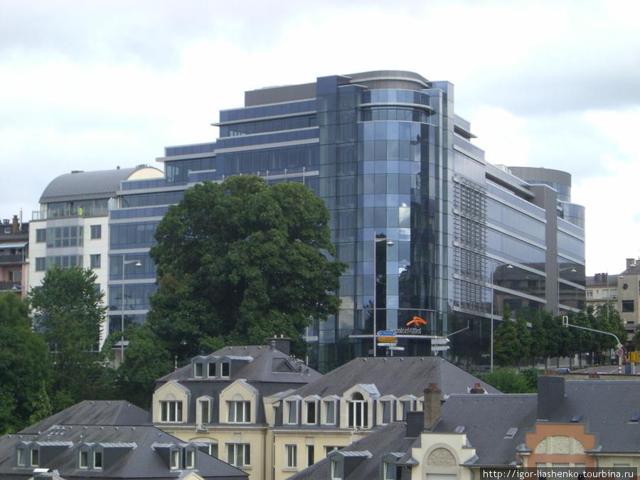 Люксембург — офис Арселор-Миттал